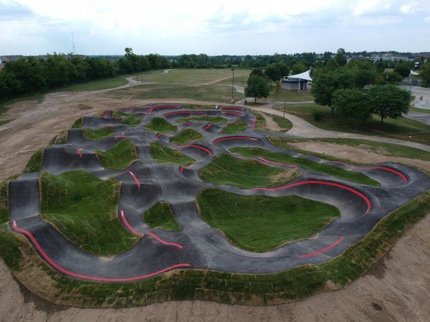 largest pump track
