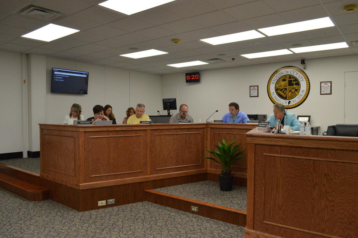 School board discusses agenda items