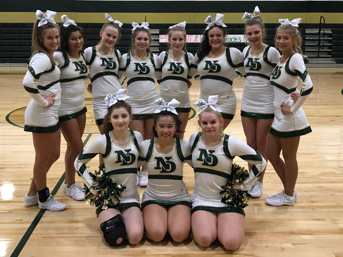 2b9aa80acb1f9  I don t think it could get any better than this   Notre Dame High School cheerleaders  prepare to head to state championship