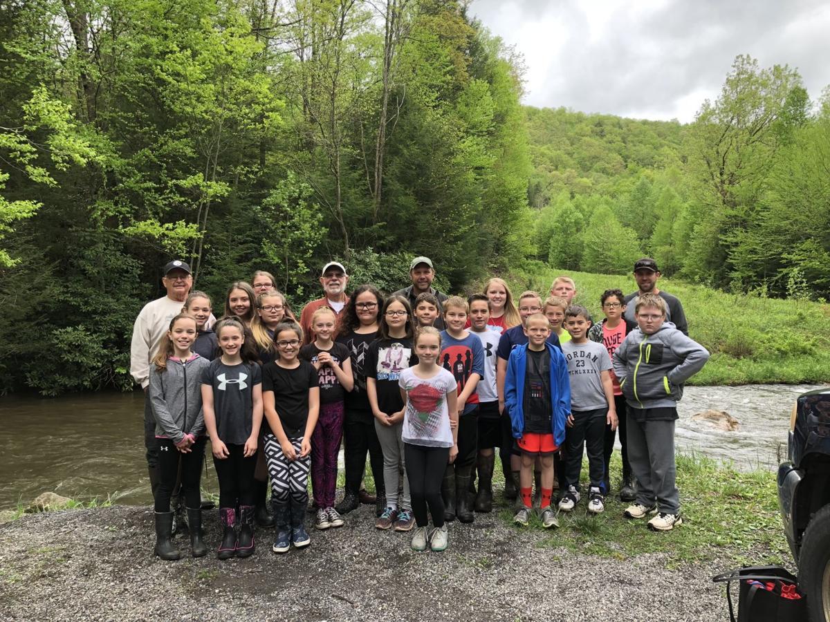 Friendsville Elementary participates in Trout in Classroom program