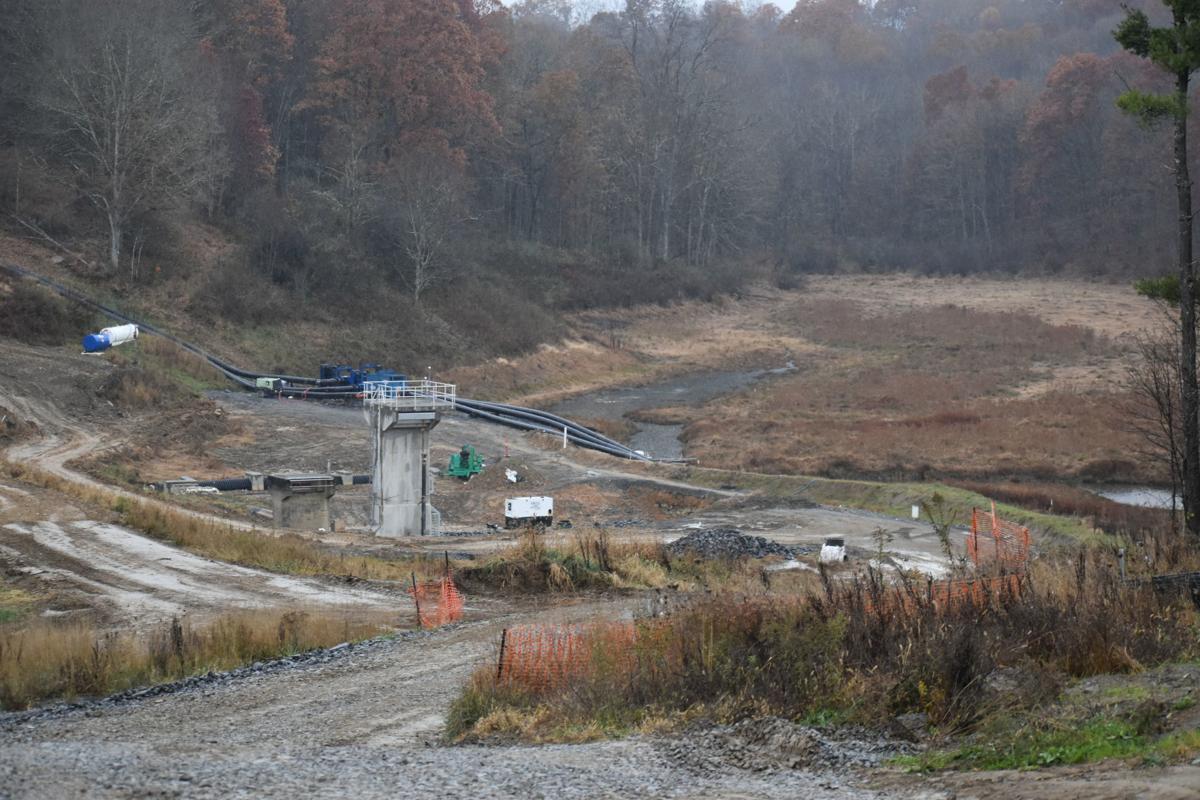 Upper Deckers Dam Water side