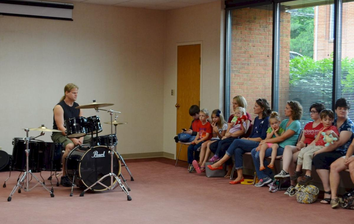 Learning about drums