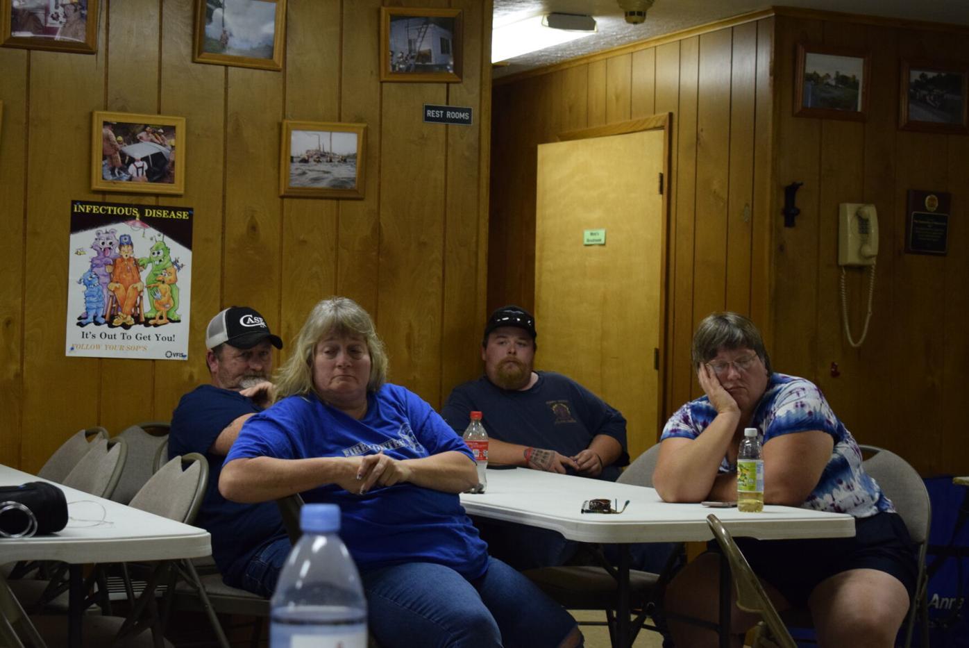 Public gets update on Walkersville Volunteer Fire Department