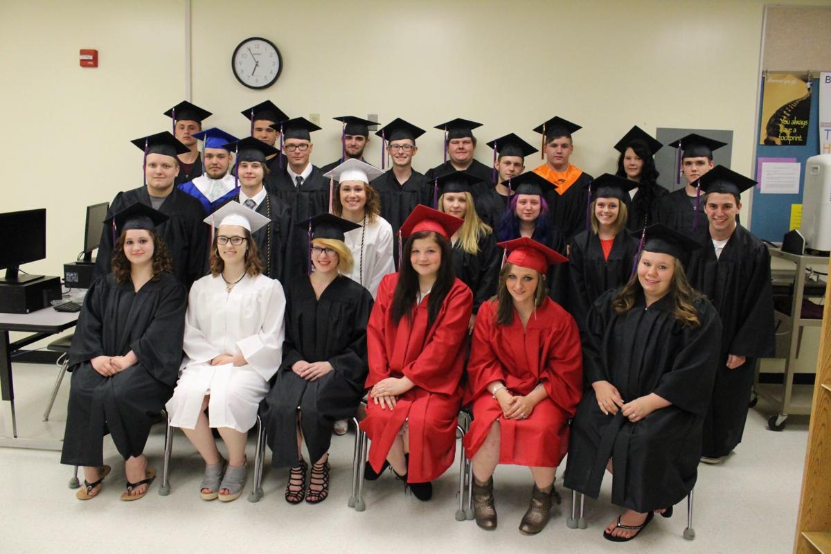 United High School graduating class