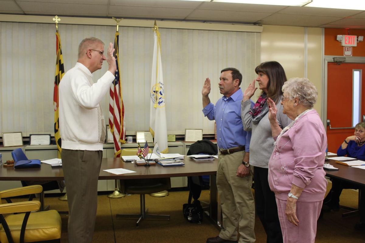 Friendville Council Sworn In
