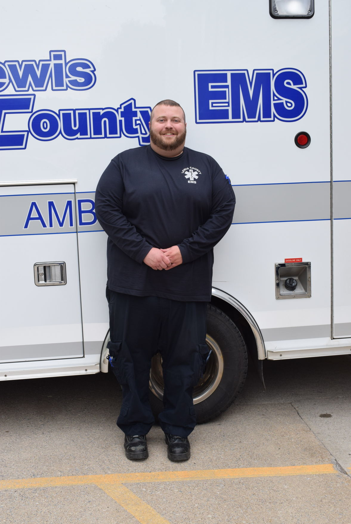 Lewis County's Christopher Lusk named Paramedic of the Year