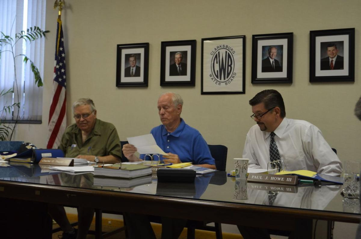 Water board president reads letter regarding fluoride