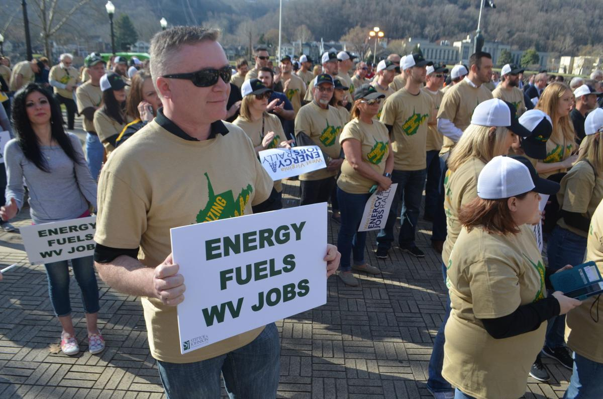 Antero Resources workers attend rally