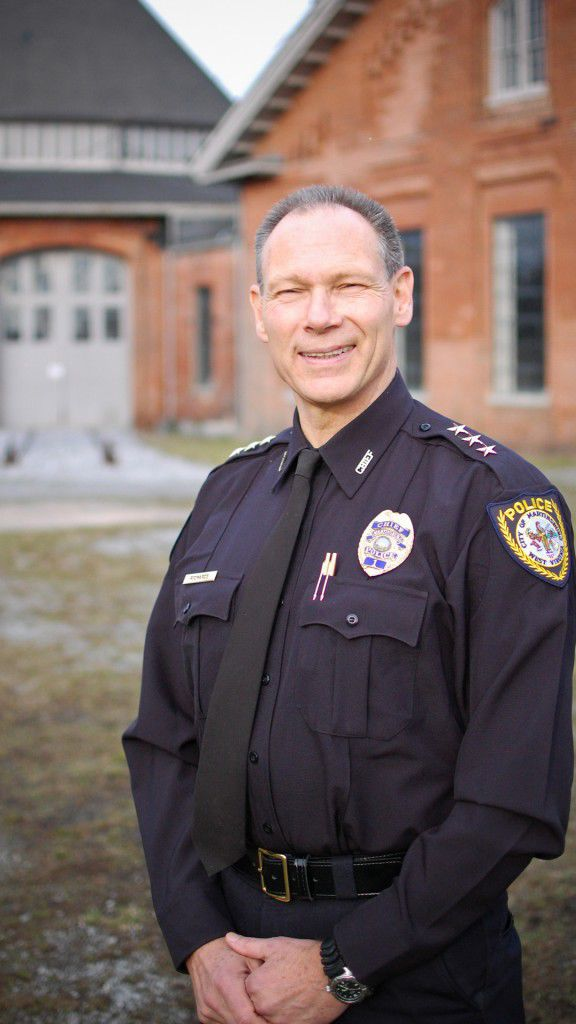 Martinsburg Police Chief Maury Richards
