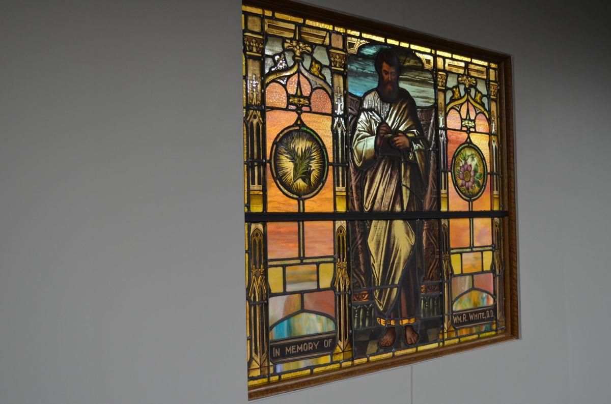 LIFE United Methodist Church - stained glass
