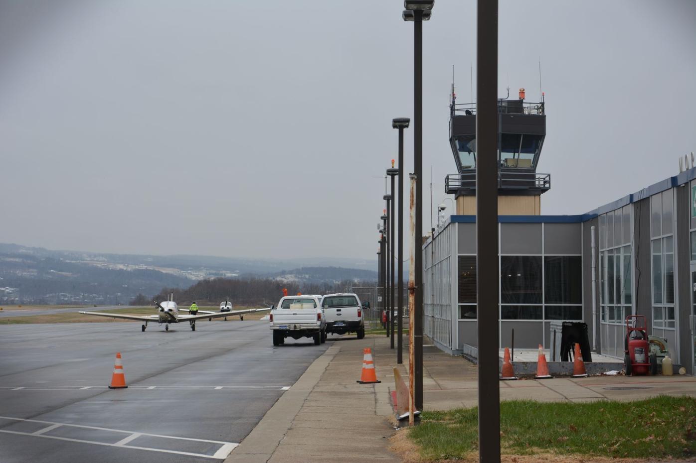 Morgantown Municipal Airport building