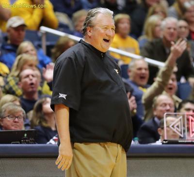 WVU Basketball Bob Huggins