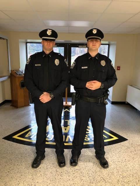 New officers' graduation