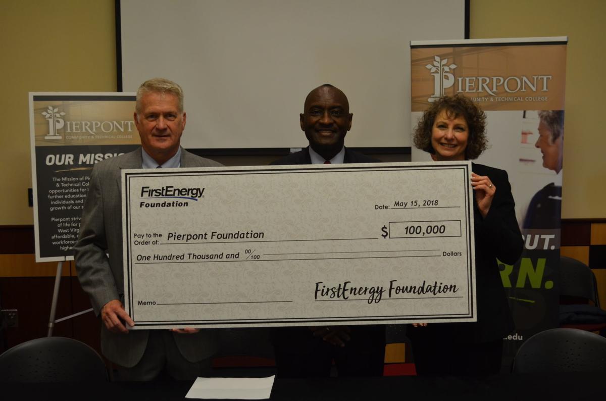 Pierpont Foundation check