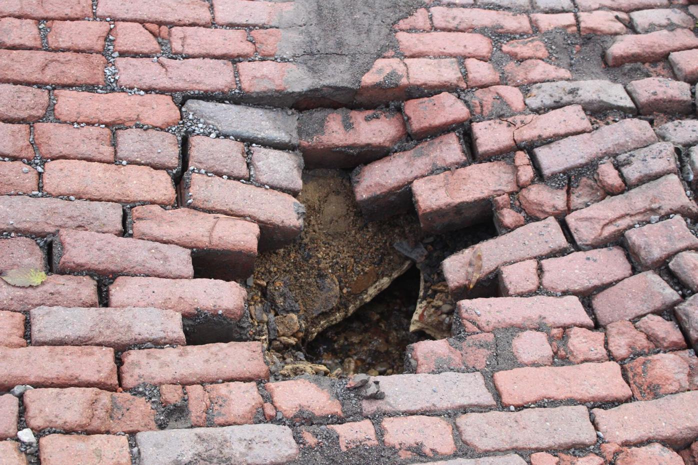 Tunnelton brick street