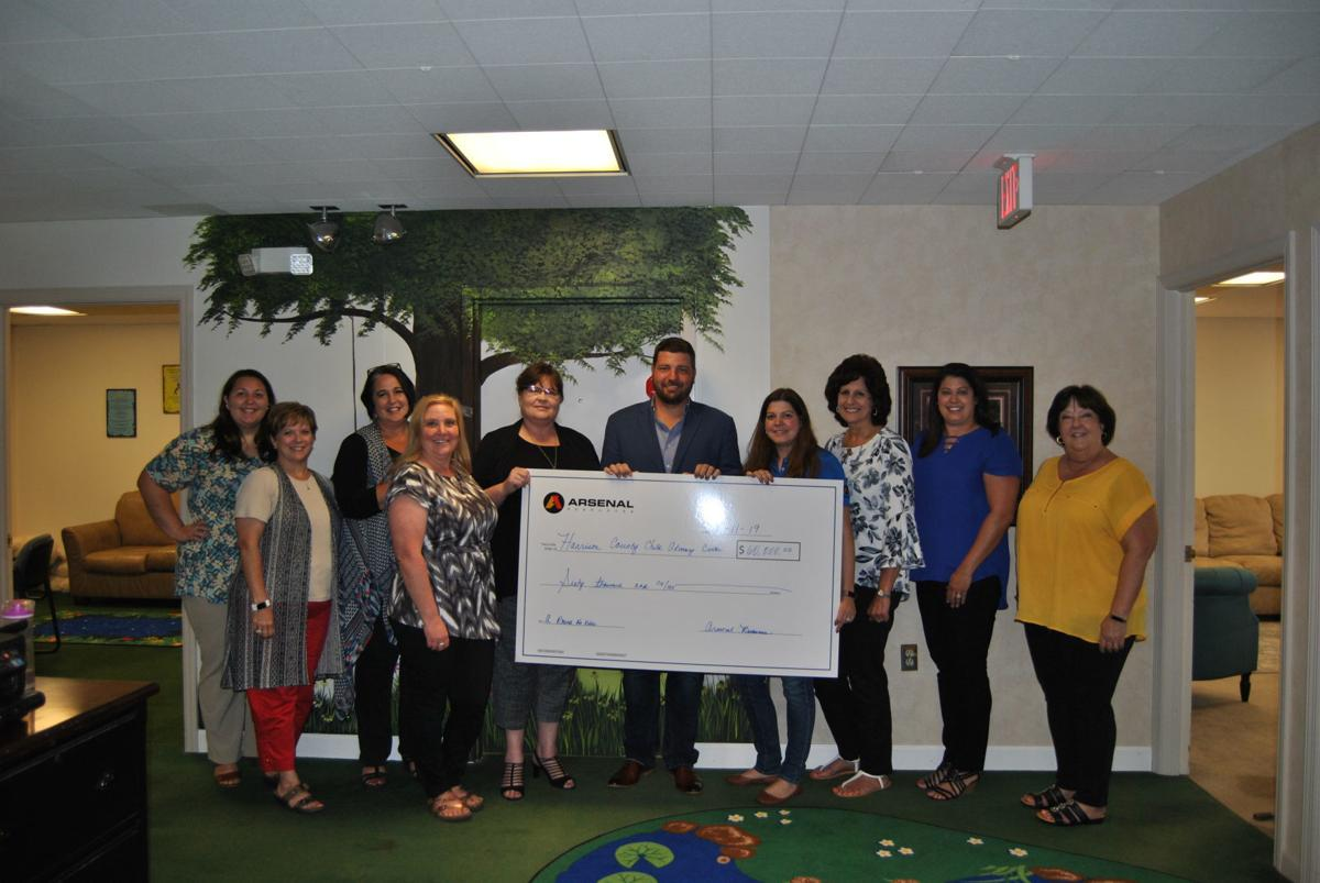 receiving large check