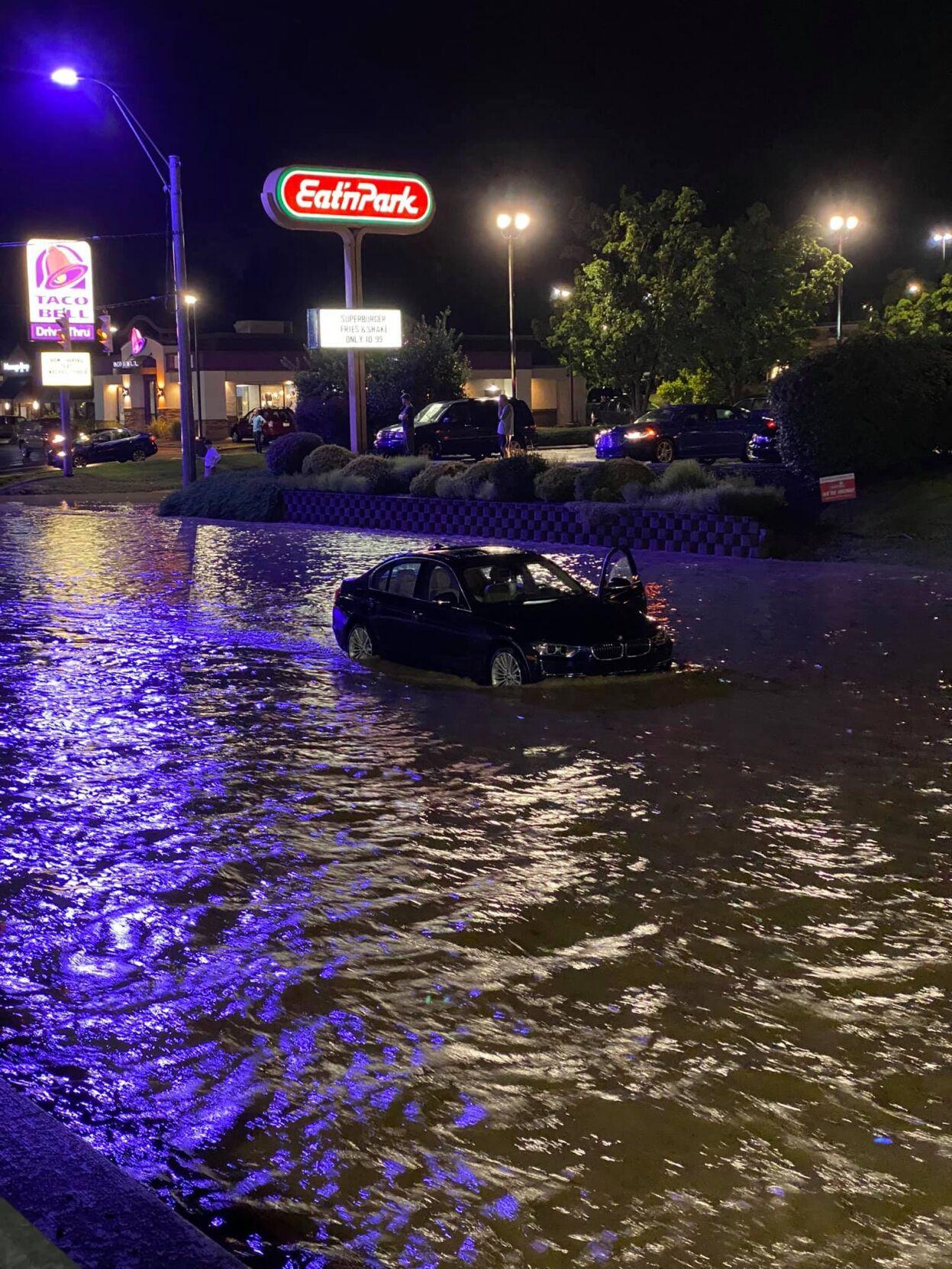 Morgantown flood