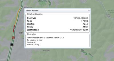 I-79 incident report