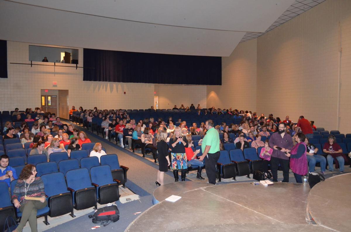 East Fairmont High School teacher meeting