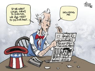 Uncle Sam's help