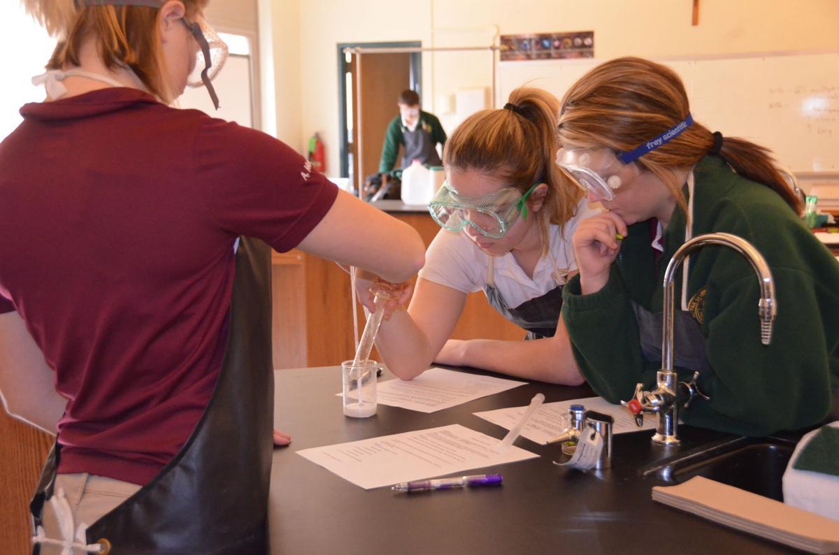 Students in AP Chemistry