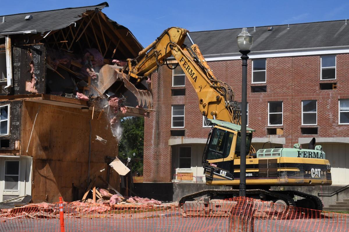 Construction - Wesleyan