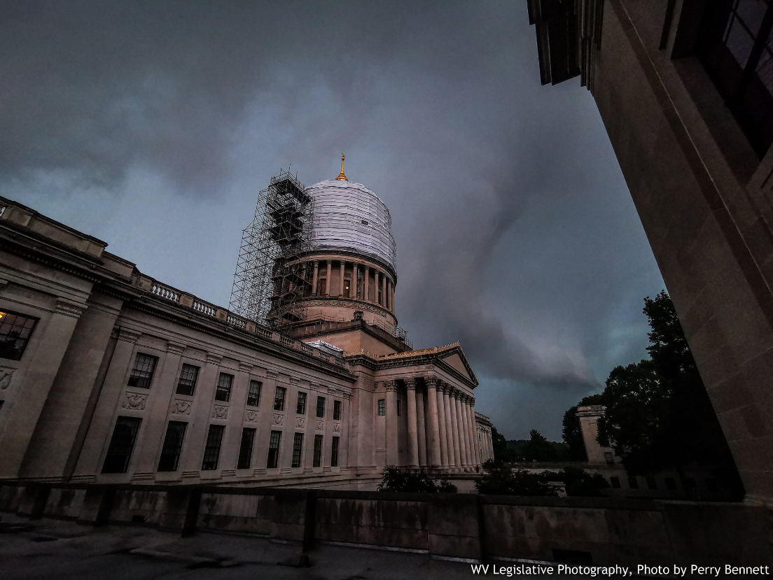 Capitol storm cloud