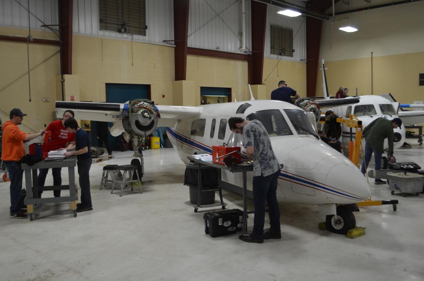 Pierpont aviation student