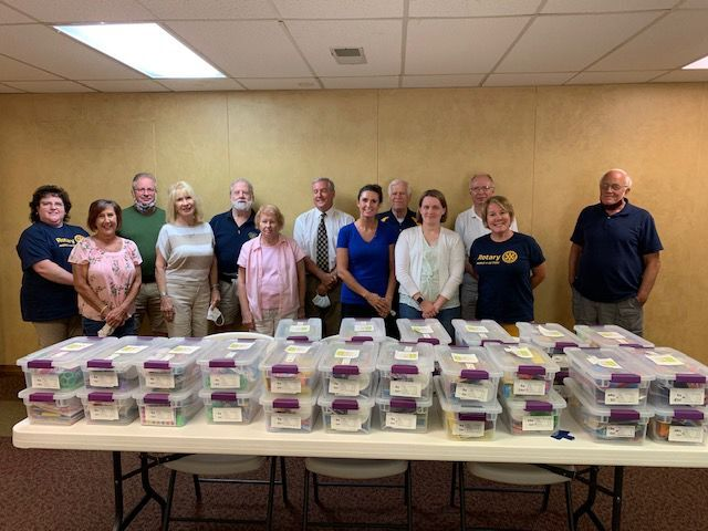 Fairmont Rotary with boxes
