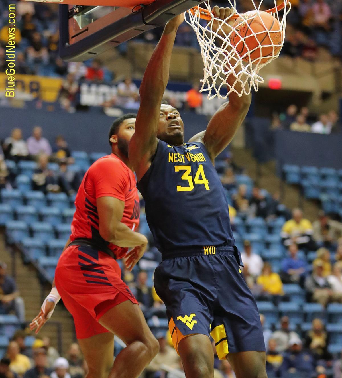 WVU Basketball Oscar Tshiebwe 2.JPG