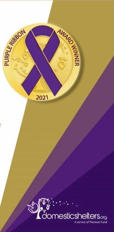 Purple Ribbon Award logo