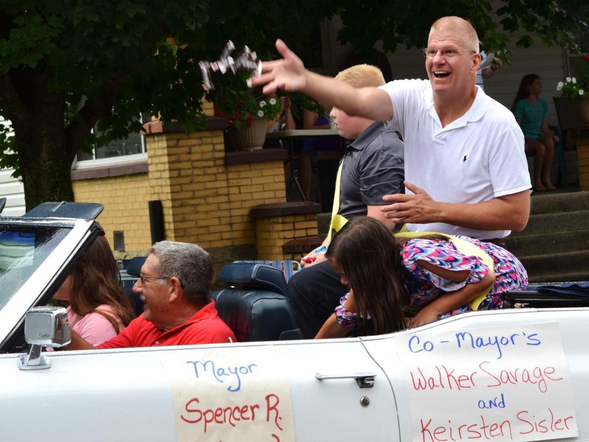 Mayor in Friendsville Day parade