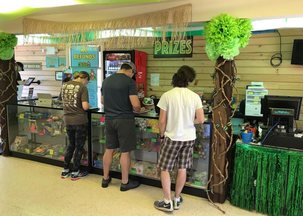 Jungle Room counter