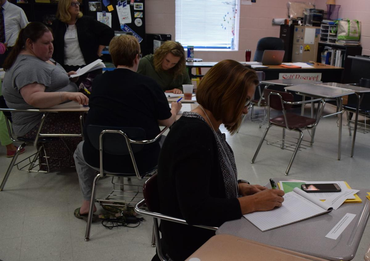 Math 4Life Summer Workshop held at LCHS