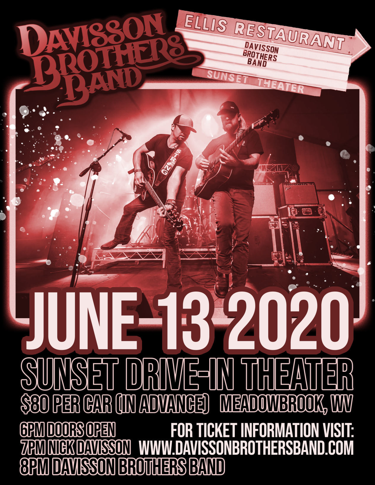 Davisson Brothers Band to perform