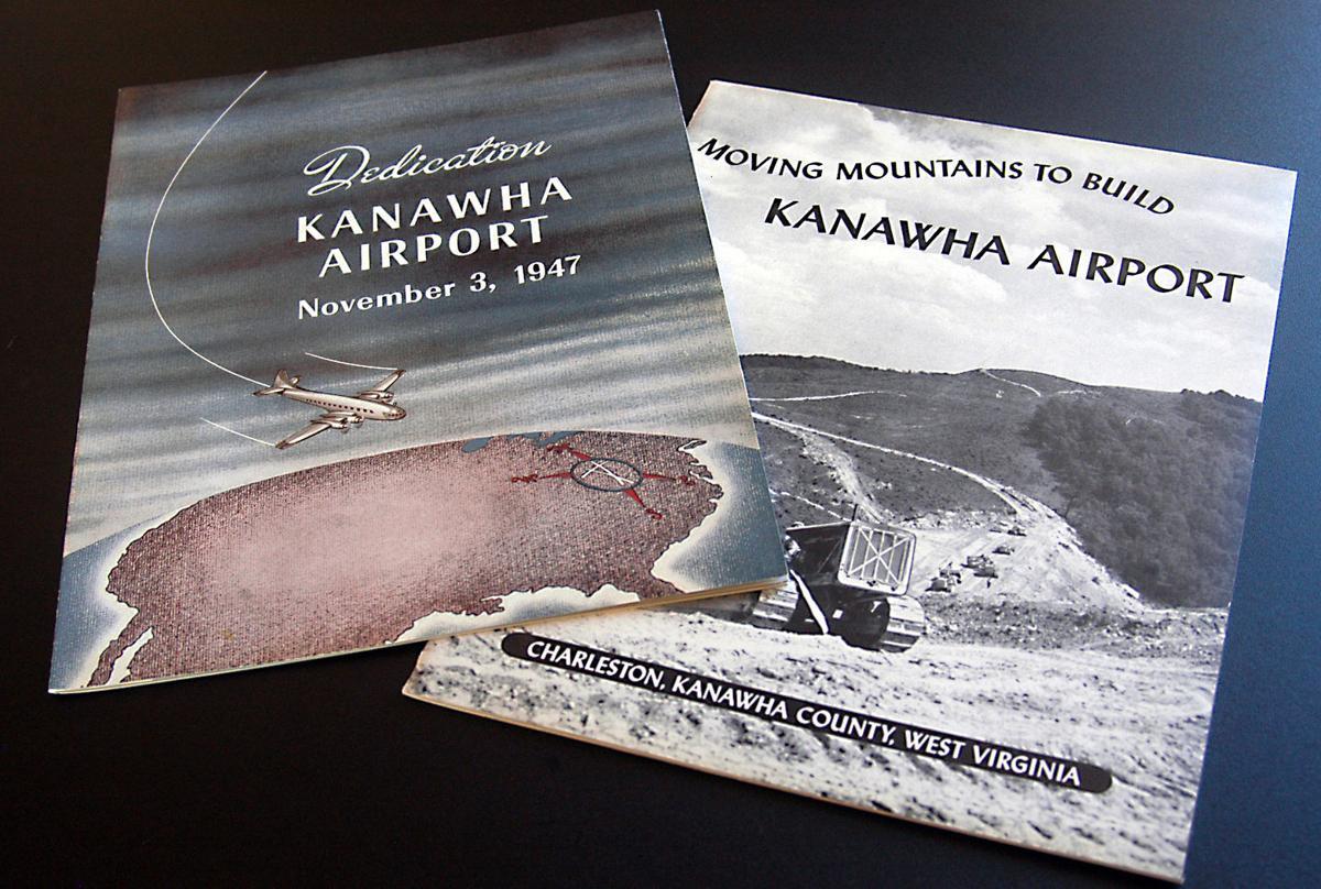 Kanawha Airport pamphlets