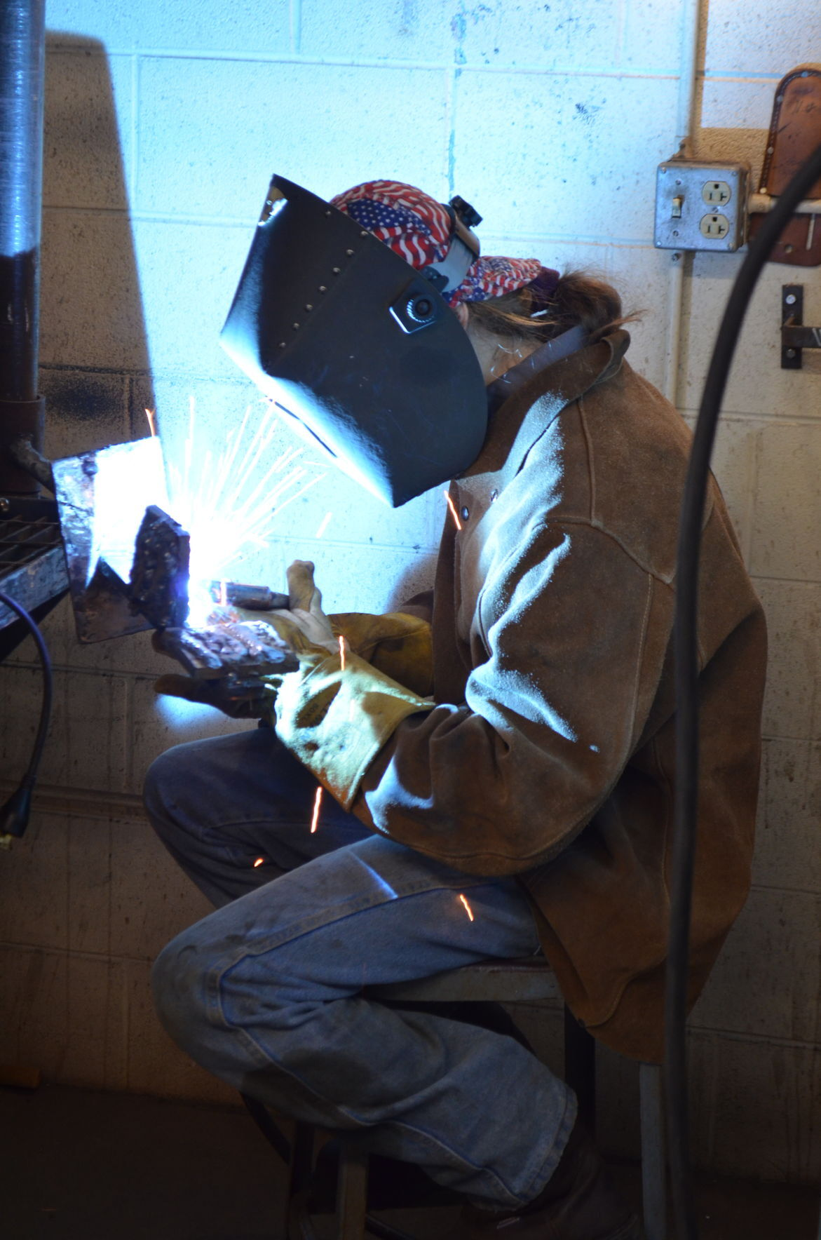 Welding at MCTC