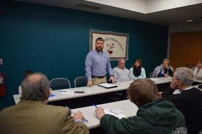Lewis County Park Director speaks at LC First meeting