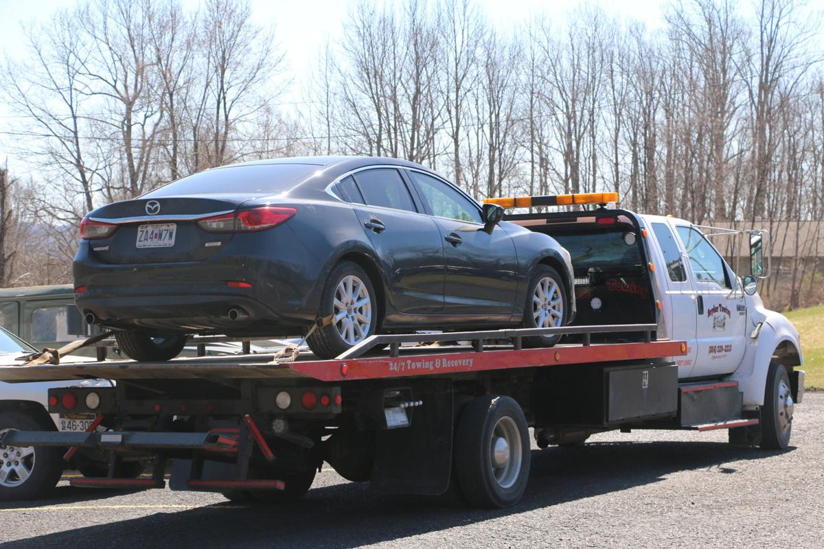 Charron's car impounded