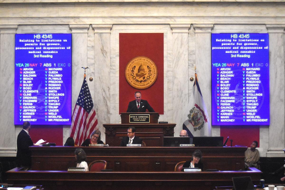 Senate votes on marijuana amendment