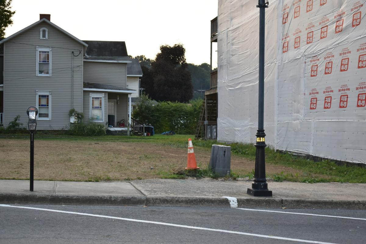 Vacant lot at South Price Street