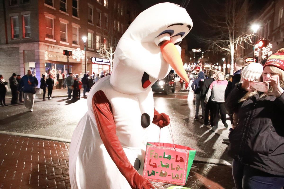 Olaf at the parade