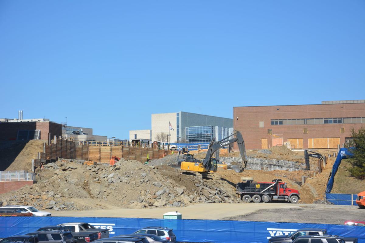 WVU Medicine Children's construction