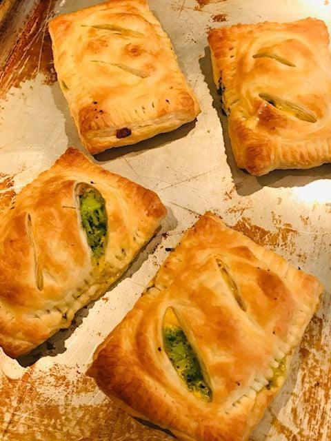 Ham, Broccoli and Cheese Turnovers