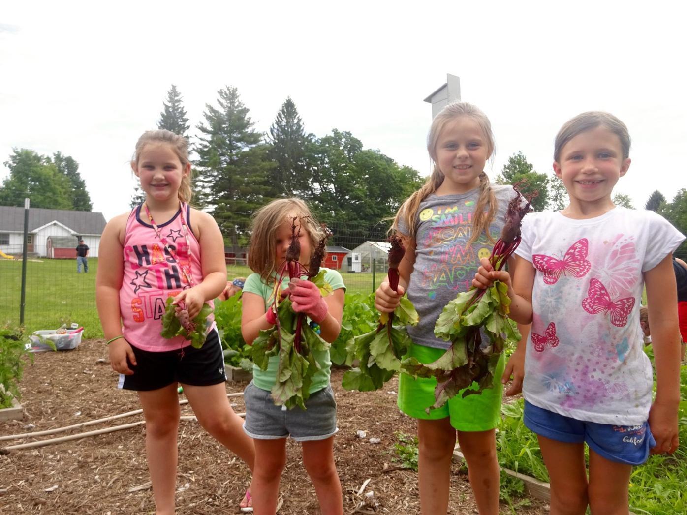 Sunshine Farm teaches many lessons at Crellin Elementary
