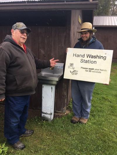 Handwashing station