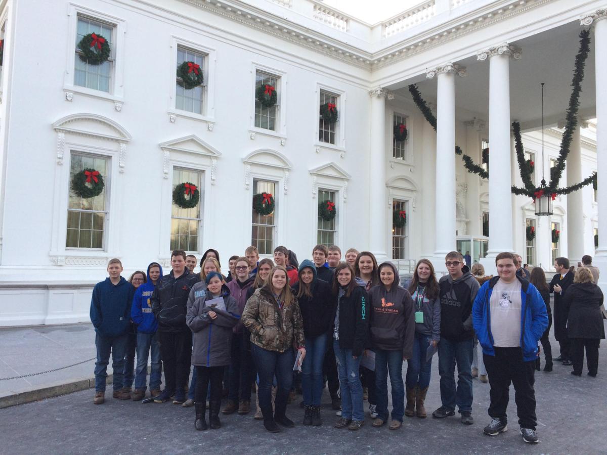 North Garrett FFA visits Washington, D.C.