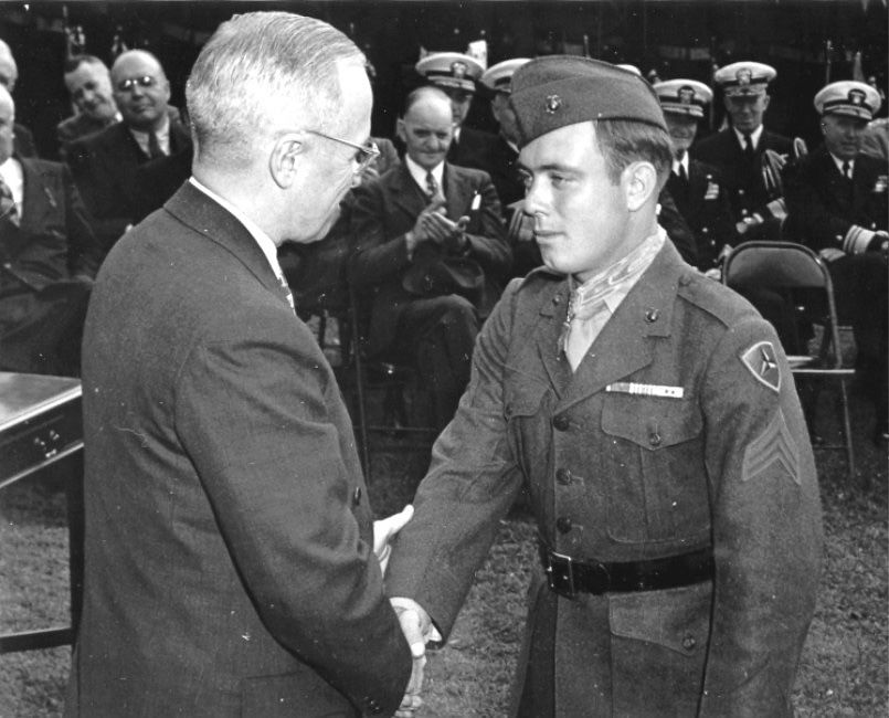 Medal of Honor winner Woody Williams
