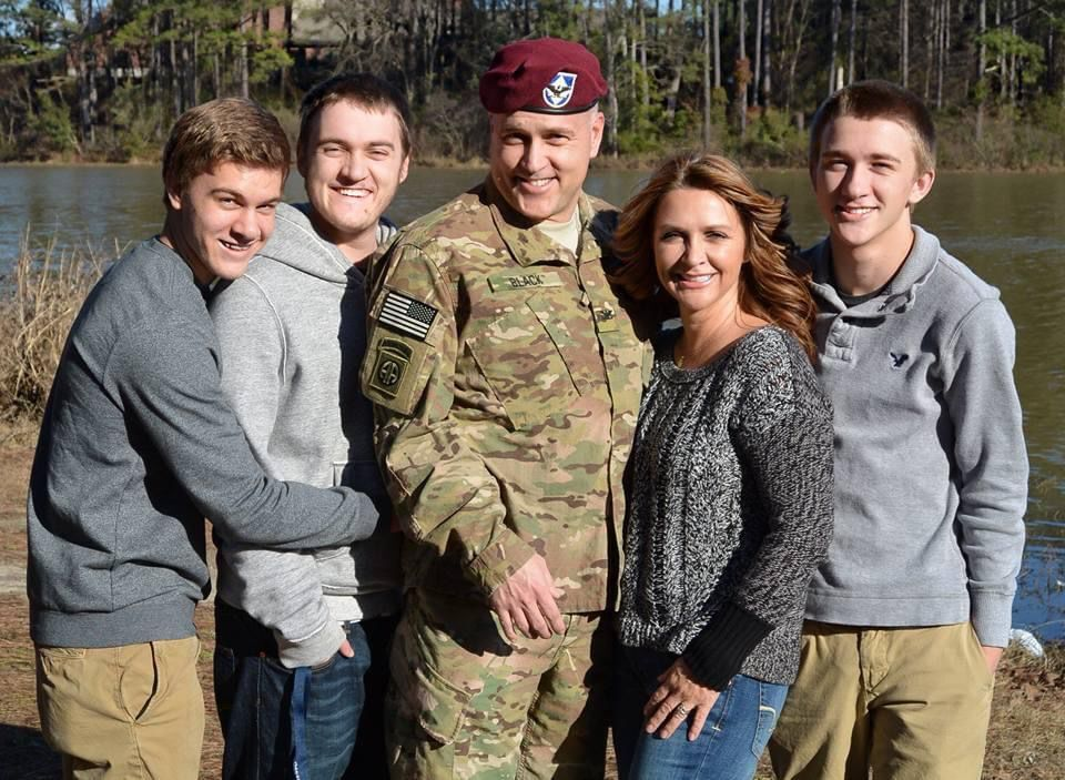 Col. Bill Black and family