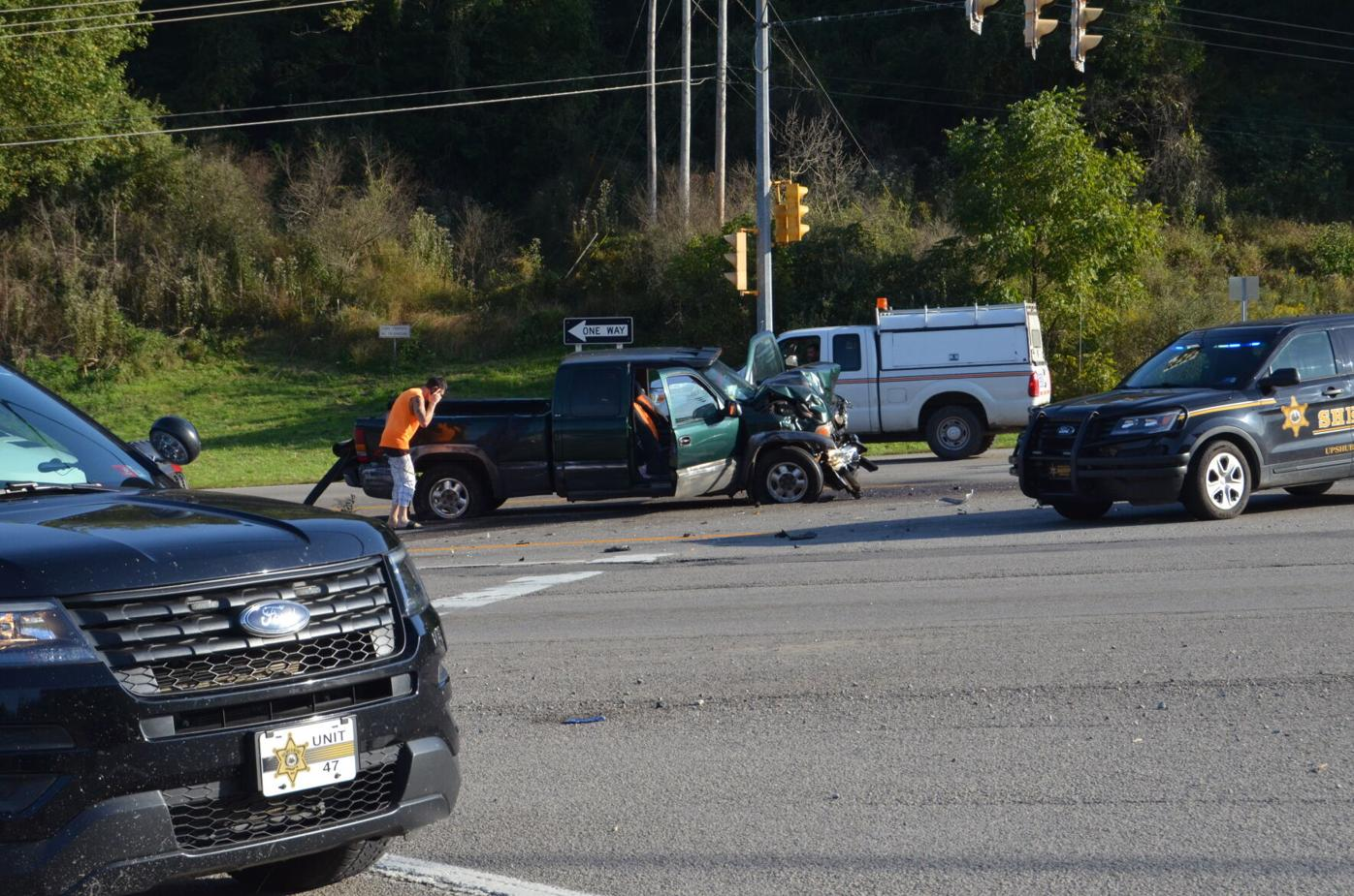 Accident at 50/98 intersection